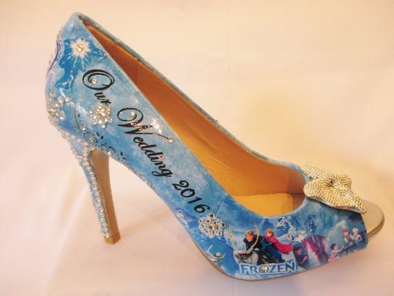 Wedding Personalised bridal shoe   Etsy
