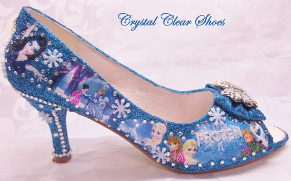 7872ae98527c6 Frozen Glitter Shoes,Something Blue,Pearl Shoes