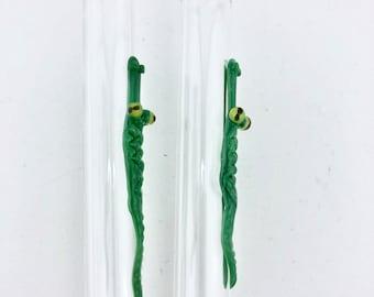 BOBA Alligator GLASS STRAW - Boba Straws | Reusable Straws | Glass Boba Straw | Reusable Boba Straw | Alligator Straws | Glass Straws