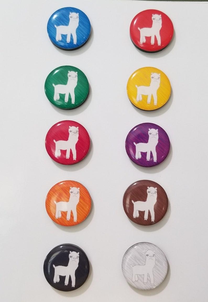 Llama Fridge Magnets / Refrigerator Magnets / Magnet Set / image 0