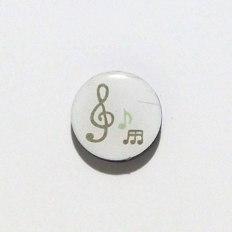 Music Refrigerator magnet / Music Fridge Magnet / Treble Clef image 0