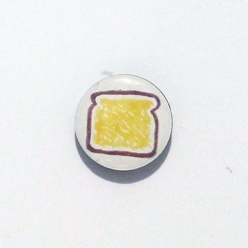 Toast Refrigerator Magnet / Fridge Magnet / Toast Magnet / image 0
