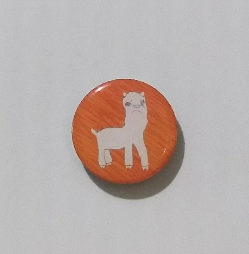 Llama single magnet  pick your own color image 0
