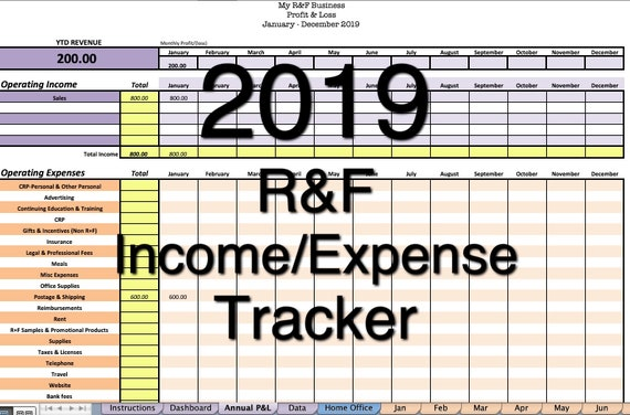 income and expense tracker