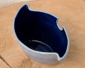 Handmade Ceramic Bowl -  Planter - Candle holder - Contemporary Porcelain - Home Decor - Studio Pottery UK - Barbara Pianca Design