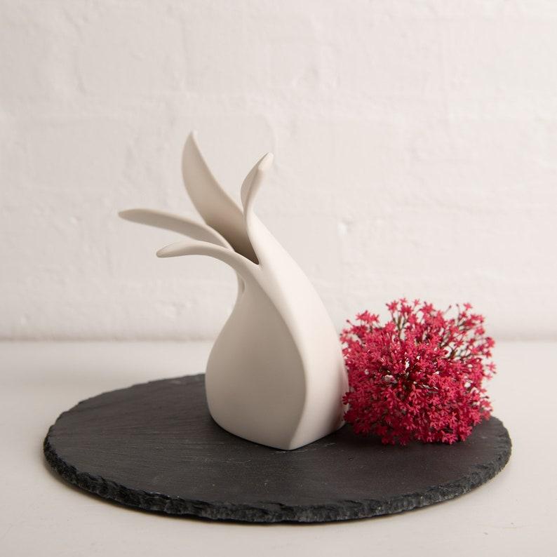 Handmade Ceramic Vase  Contemporary Porcelain Vase  image 0