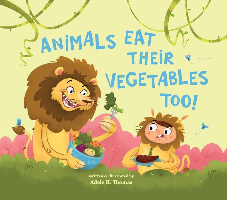 Animals Eat Their Veggies Too image 0