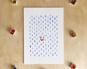 Falling - Giclée Print