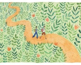 In the Jungle - Giclée Print
