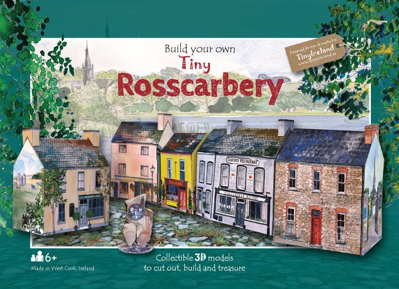 Build your own tiny Rosscarbery an innovative Irish paper model kit