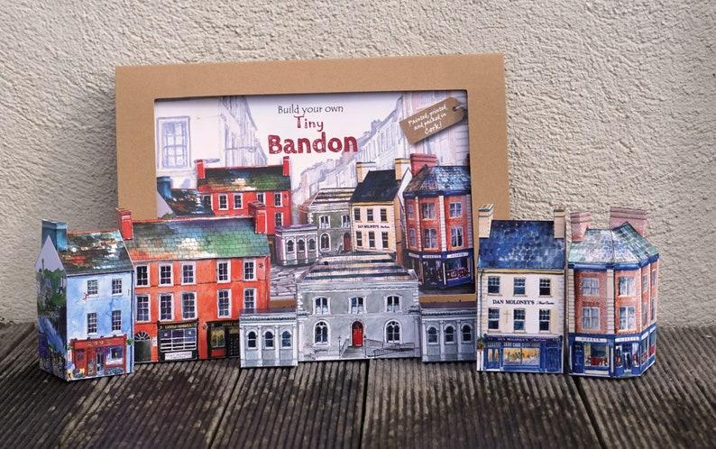 Build your own tiny Bandon an innovative Irish paper model kit
