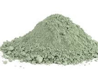 French Green Clay, French Clay, 100% Pure and Natural.