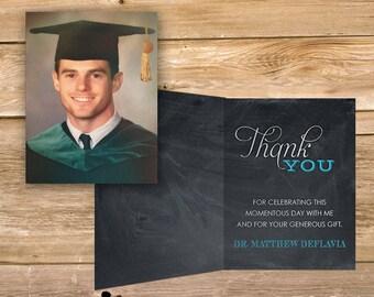 graduation thank you etsy