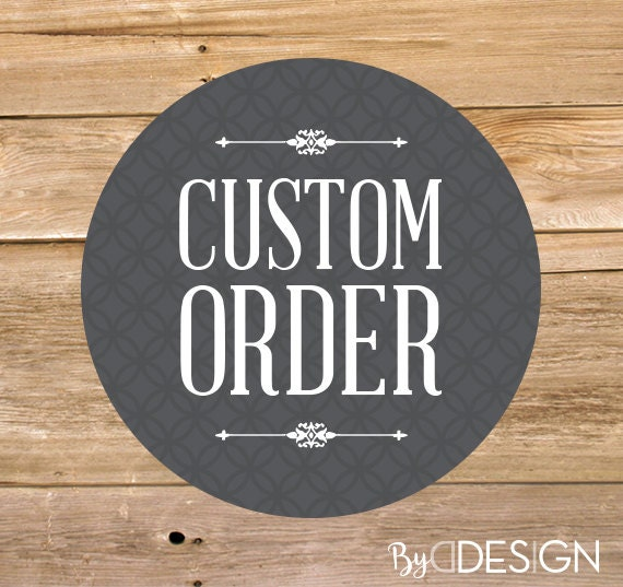 custom order create your own invitation create your own etsy