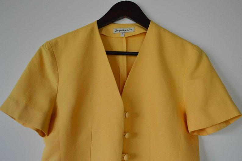 Yellow summer Jacket Lightweight women/'s jacket Cropped Trachten Blazer Bawarian Jacket Austria Tyrolean Short Loden Jacket