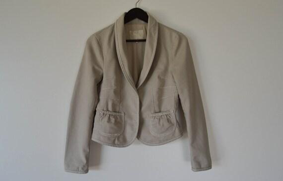 Veste simili cuir femme taille 48