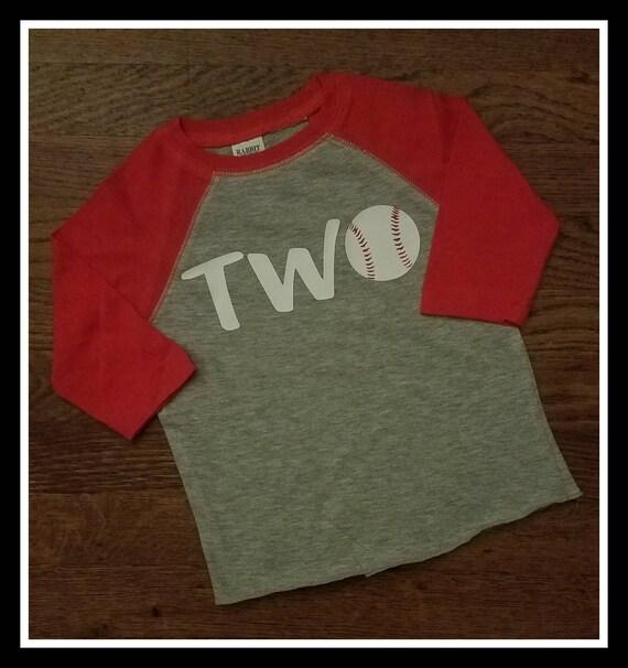 2nd Birthday Baseball Shirt
