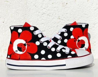 d821cd319f2e Handmade creations  handpainted shoes art   by ViernesAlways