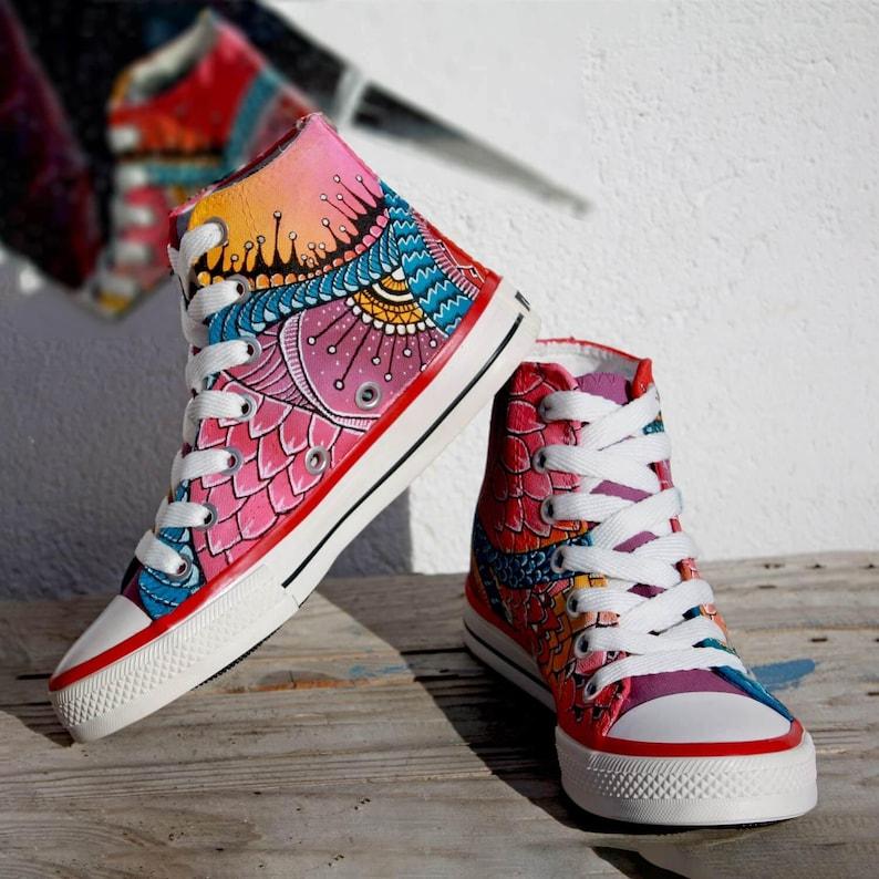 6d0a478eeb33 Custom Converse Custom Sneakers Handpainted converse chuck