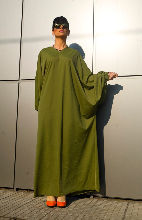 208acac60af Green Plus Size Maxi Dress for women  Women s Clothing