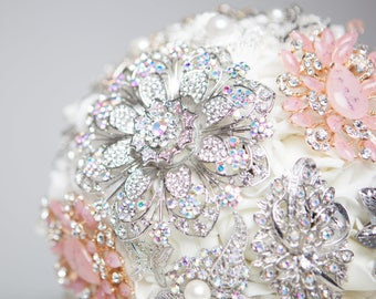 8' Butterfly brooch bouquet