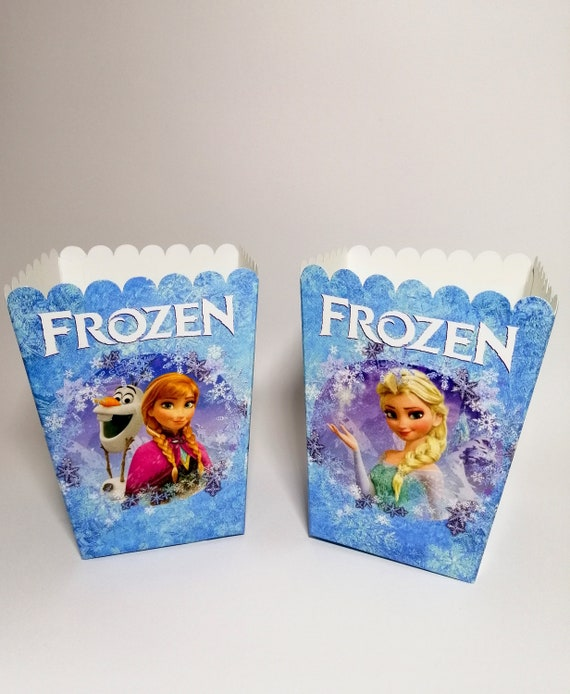 6 x Disney Princess Kids Popcorn Sweet Box Party Happy Birthday