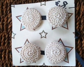 Crochet Covered Buttons