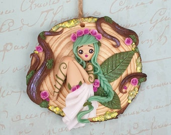 Forest fairy decoration