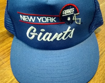 5fc59fba09c42b Items similar to Vintage NFL New York Giants Football Unstructured ...