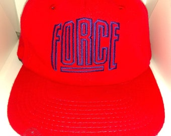 e741ca50 Vintage 90's Nike Force Command Strapback Hat