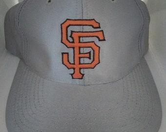 896242ade6ff5 Vintage Mlb San Francisco Giants Satin Snapback Hat