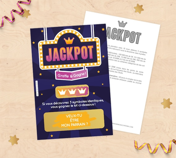 Scratch card asking witness at Christmas