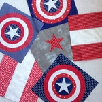 Captain America Quilt Kit