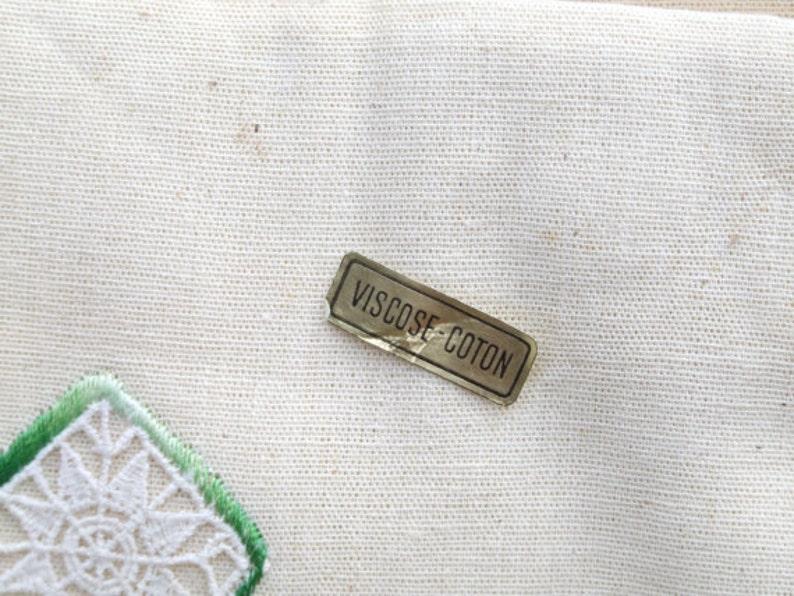 Textiles des Flandres  Ladder pattern  French linen embroidered pattern