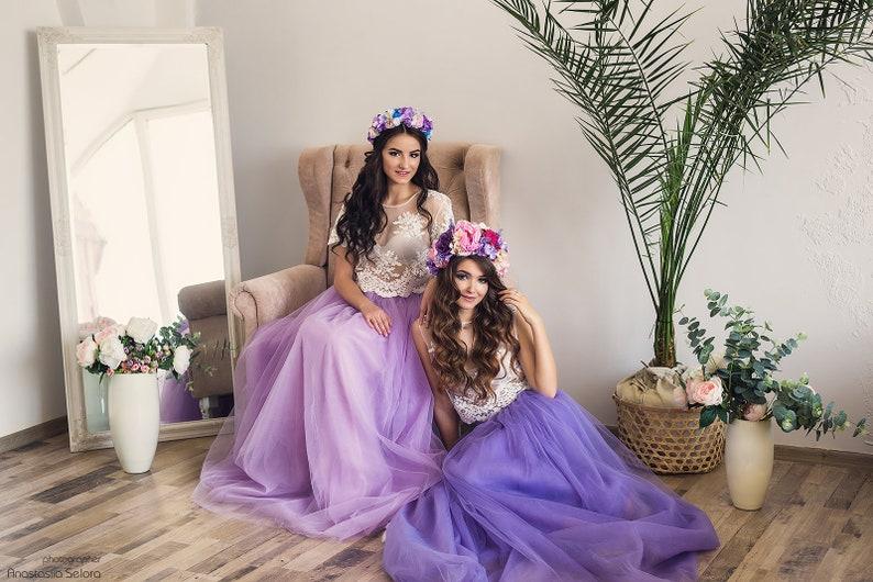 Purple flower crown Lilac Adult floral crown Fairy pink flower crown Bridal Shower Party Bridal rustic wreath mauve Wedding flower crown