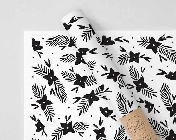 Lilies Wrapping Paper