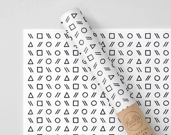 Shapes Wrapping Paper