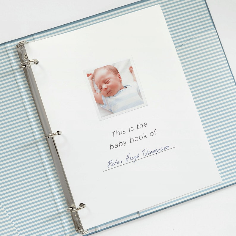 ba18640c41ec Printable Baby Book Pages   Keepsake Journal Pages for