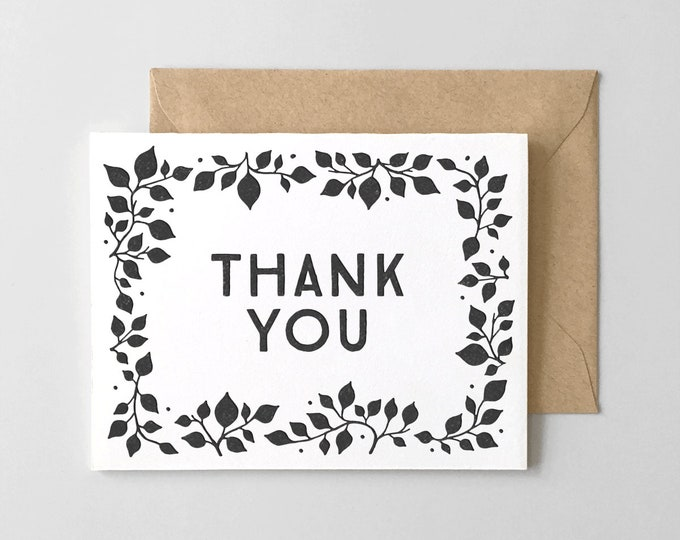 Branch Thank You Card