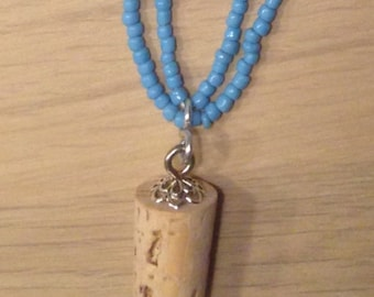 Luna Lovegood Necklace - Butterbeer cork necklace inspired by Harry Potter