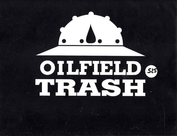 best cheap 95693 78661 ... purchase oilfield trash hard hat car truck decal sticker 525 etsy 975d6  880fd ...