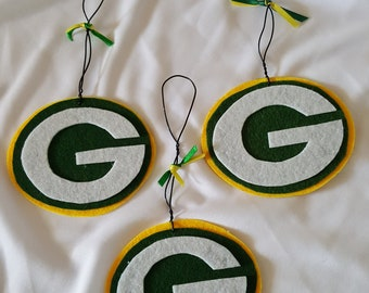 Hanging Ornament Easy Felt Football Holiday Decoration Gift Tag Gift For Her Party Favor Christmas Ornament Handmade Gift For Him