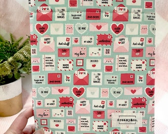 SALE Love Letters - Book Sleeve