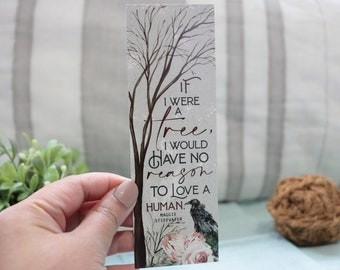 If I Were a Tree (The Raven Boys) -  Bookmark
