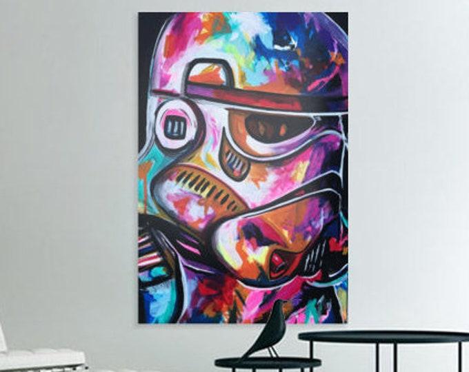 Trippy stormtrooper