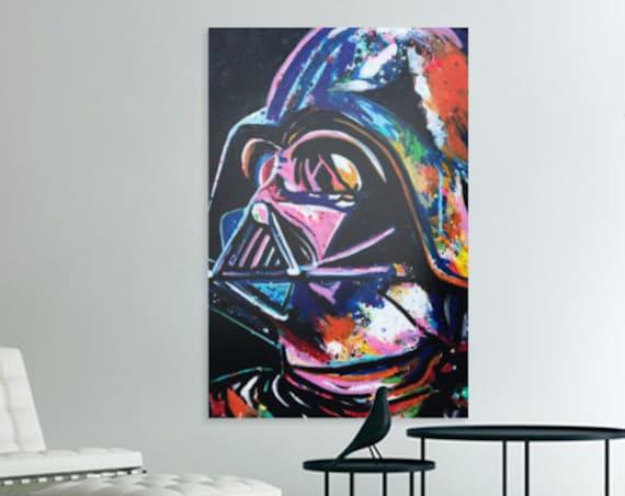 Darth vader canvas print Starwars art