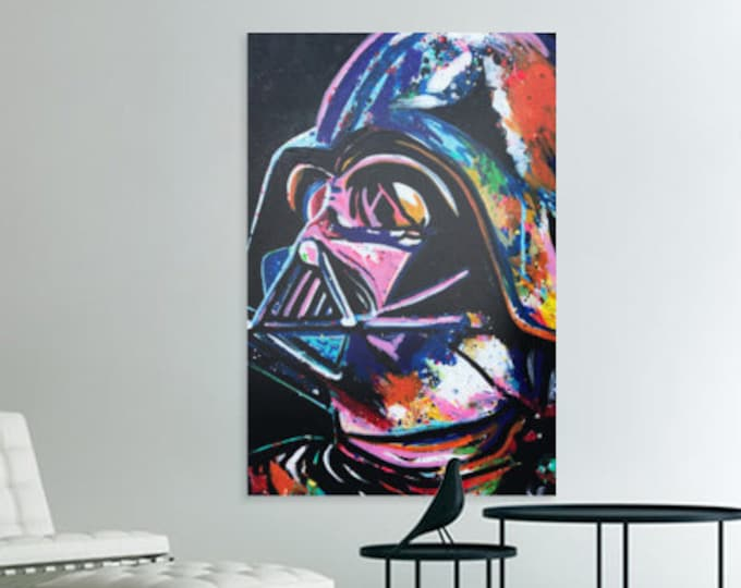 Darth vader canvas print Starwars art