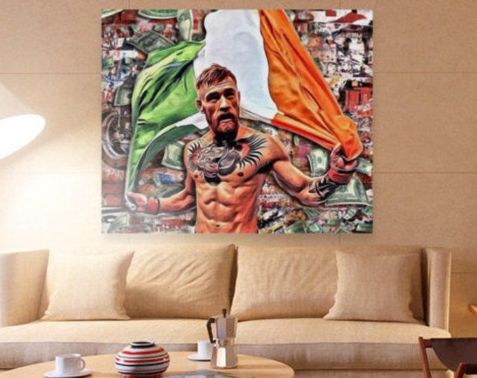 Conor McGregor the fighting irish