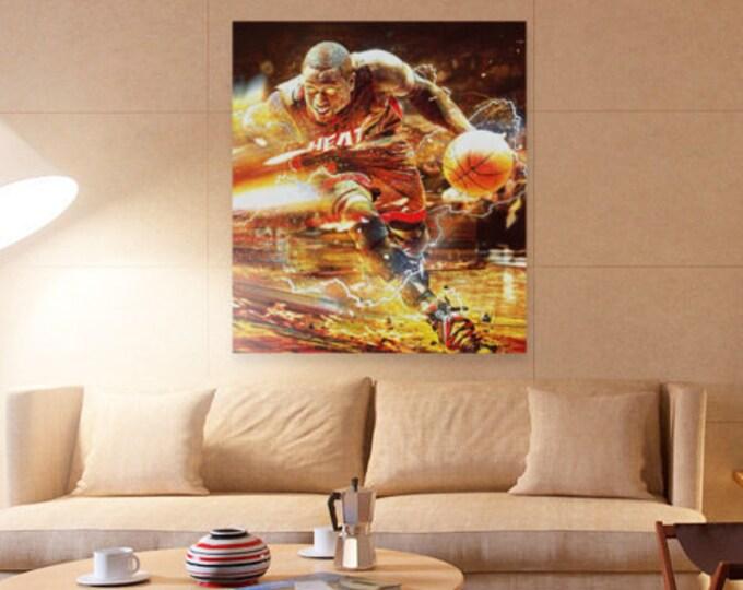 Dwyane wade / the flash / NBA artwork