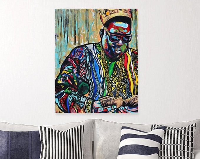 Biggie smalls canvas